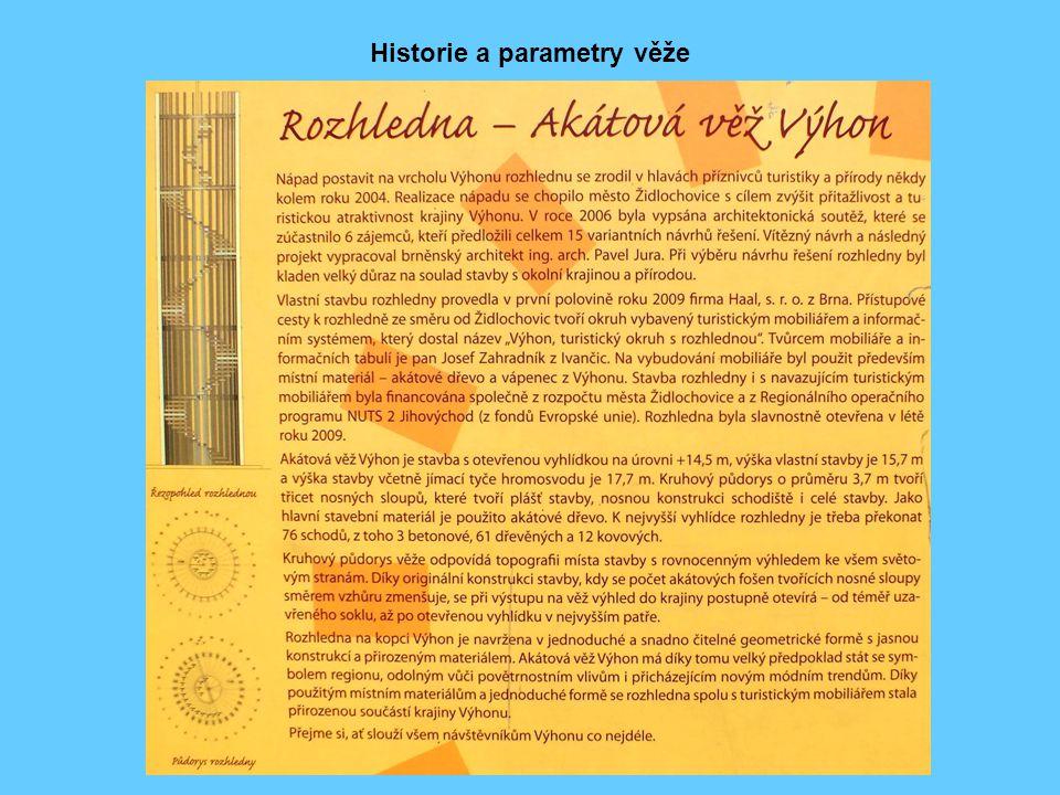 Historie a parametry věže