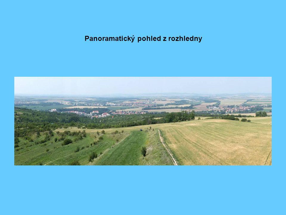 Panoramatický pohled z rozhledny