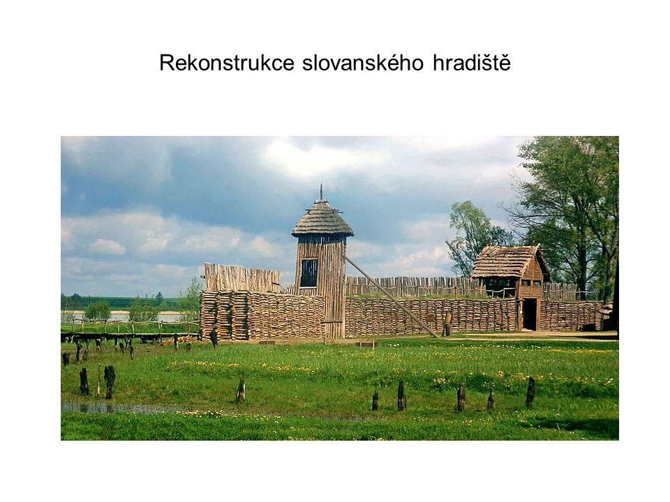 Rekonstrukce slovanského hradiště