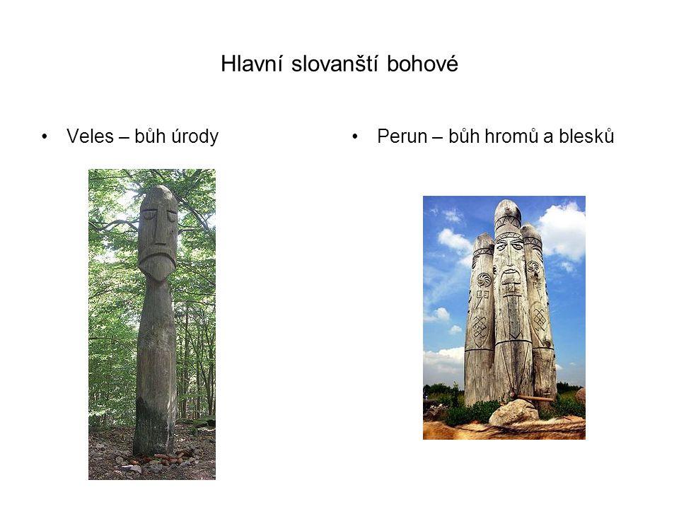 Hlavní slovanští bohové