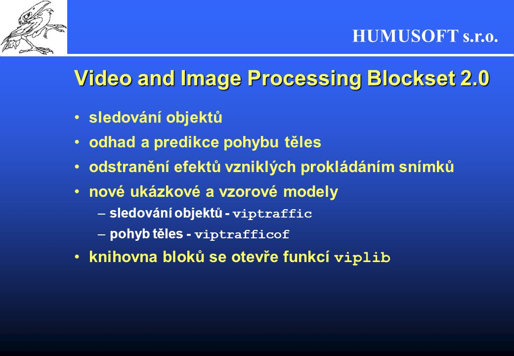 Video and Image Processing Blockset 2.0