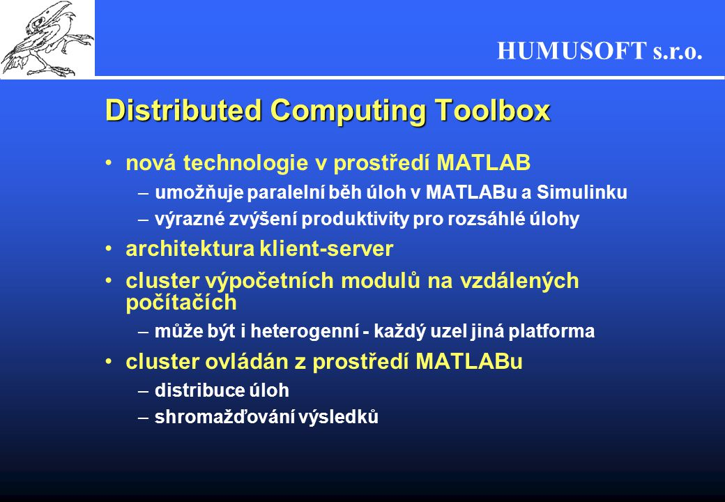 Distributed Computing Toolbox