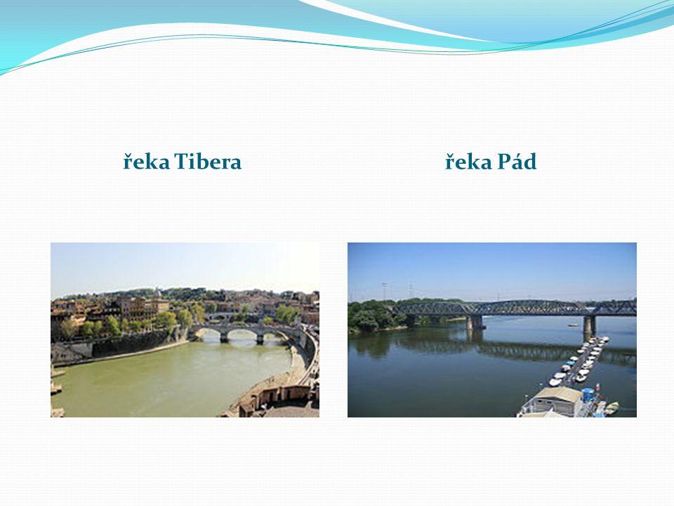 řeka Tibera řeka Pád