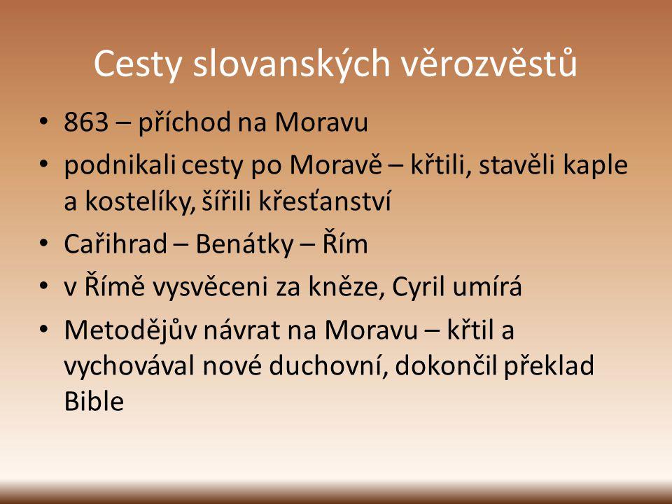 Cesty slovanských věrozvěstů