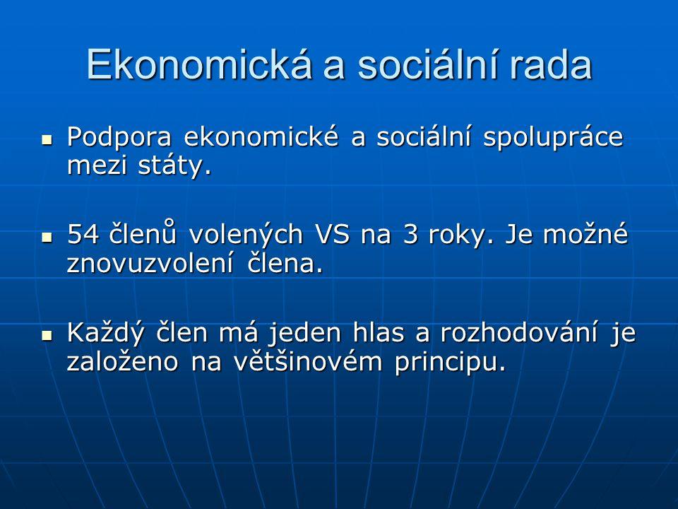Ekonomická a sociální rada