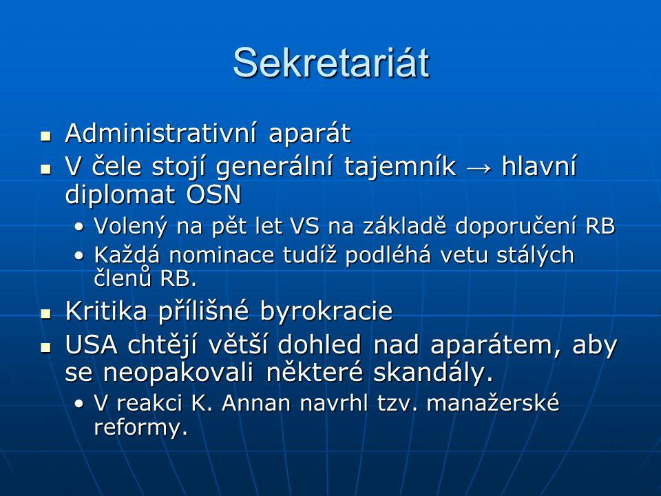 Sekretariát Administrativní aparát