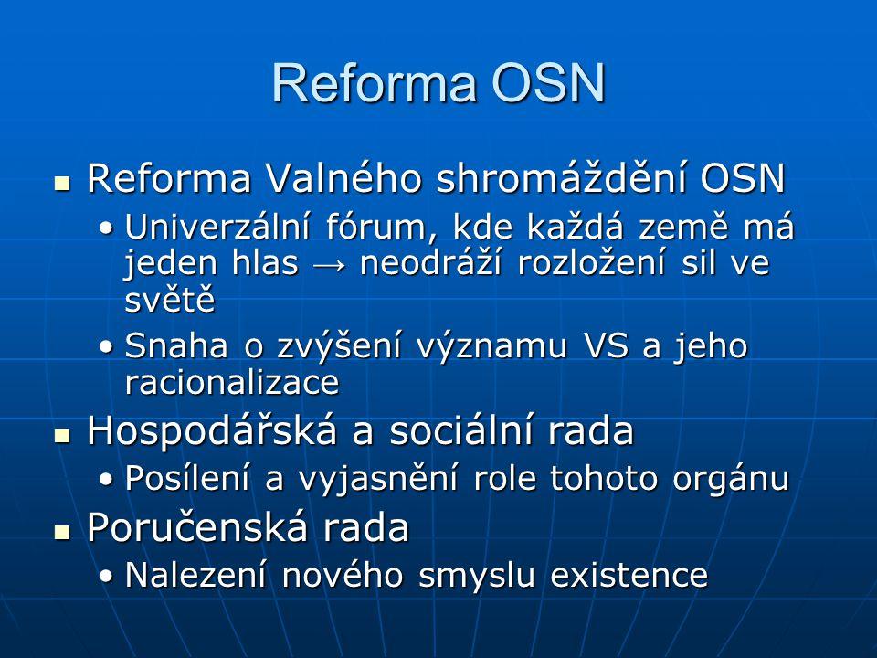 Reforma OSN Reforma Valného shromáždění OSN