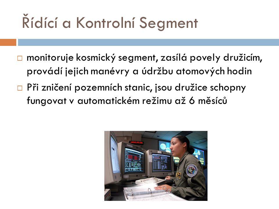 Řídící a Kontrolní Segment