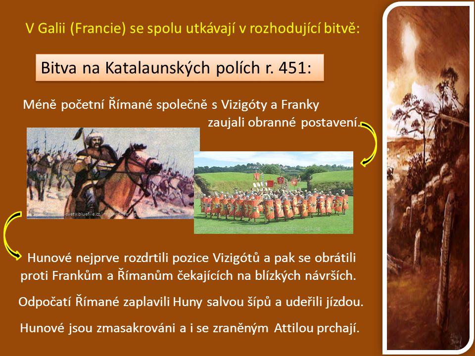 Bitva na Katalaunských polích r. 451:
