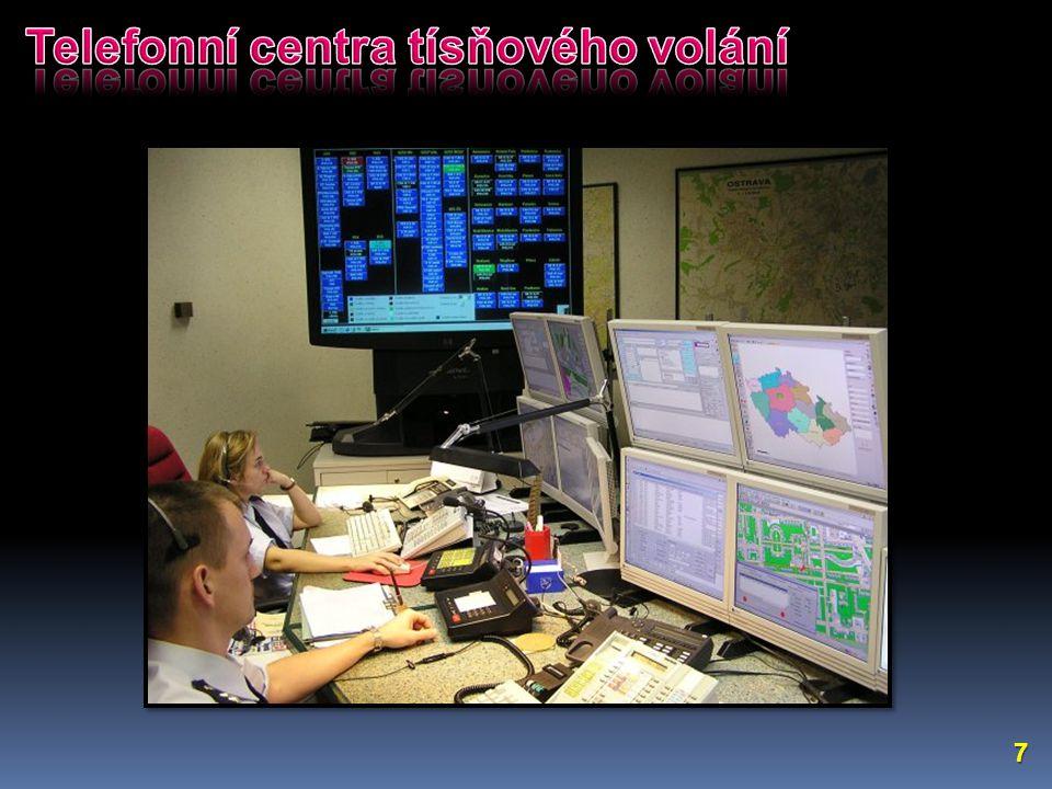 Telefonní centra tísňového volání