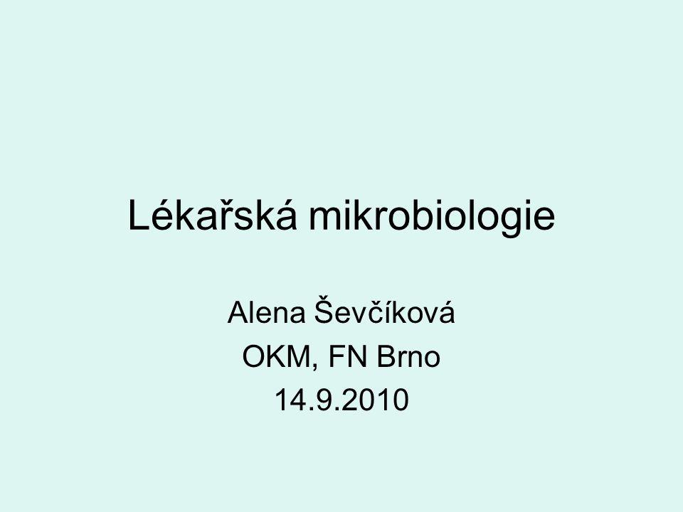 Lékařská mikrobiologie