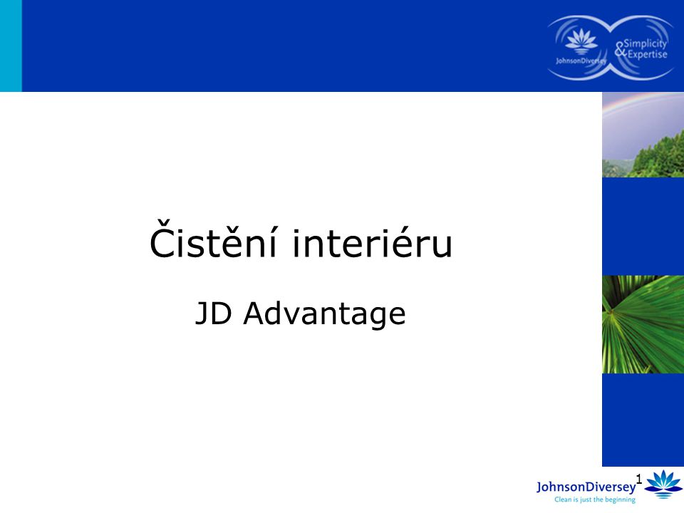 Čistění interiéru JD Advantage