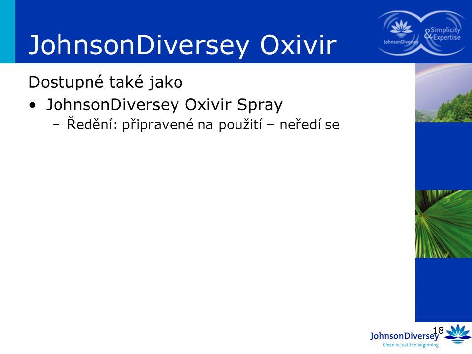 JohnsonDiversey Oxivir