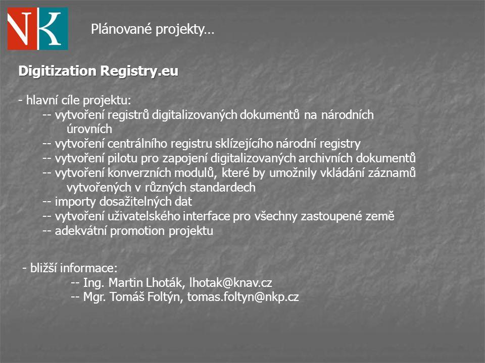 Digitization Registry.eu