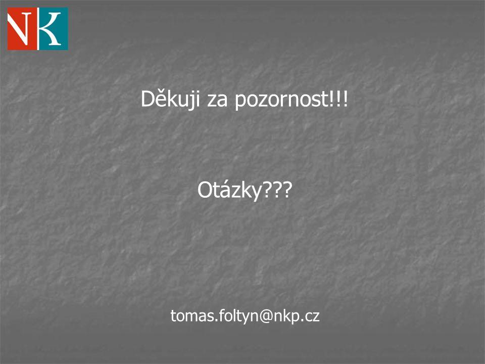 Děkuji za pozornost!!! Otázky tomas.foltyn@nkp.cz