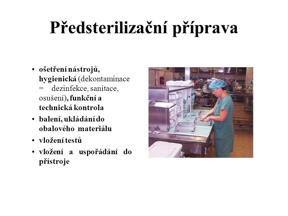 Předsterilizační příprava
