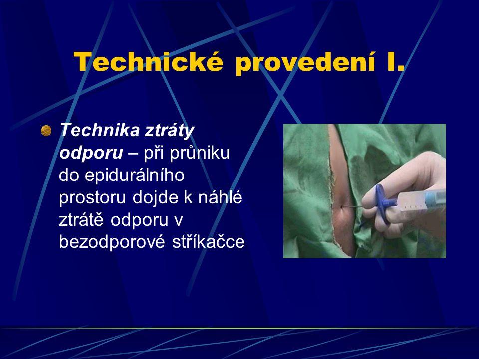 Technické provedení I.