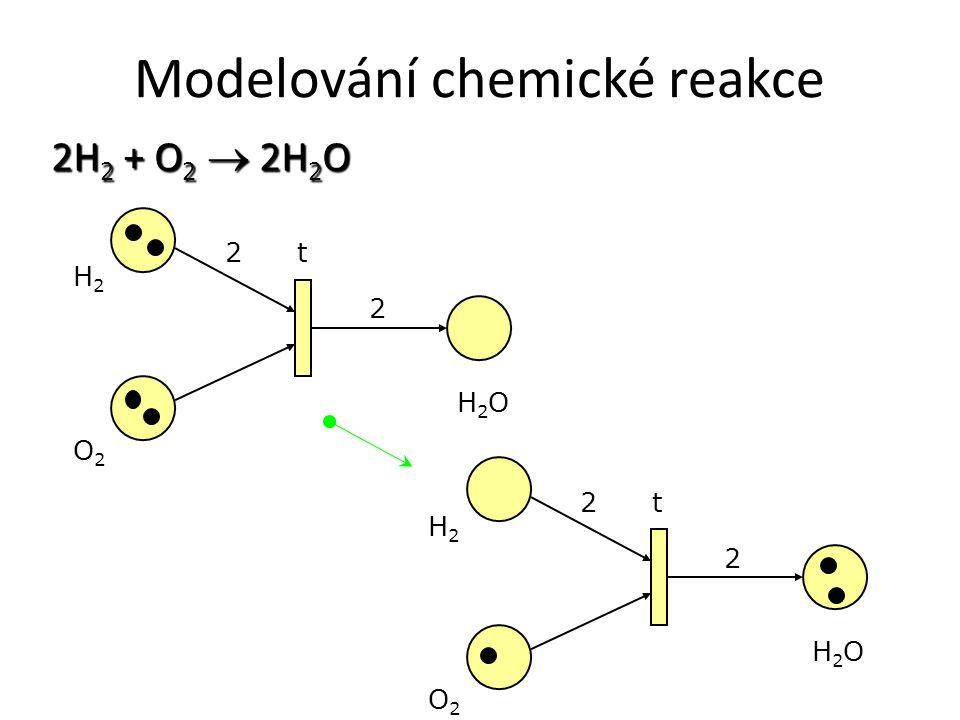 Modelování chemické reakce