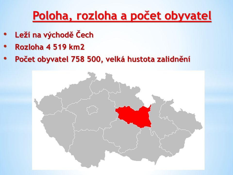 Poloha, rozloha a počet obyvatel