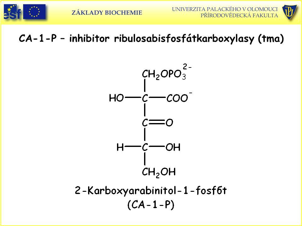 CA-1-P – inhibitor ribulosabisfosfátkarboxylasy (tma)