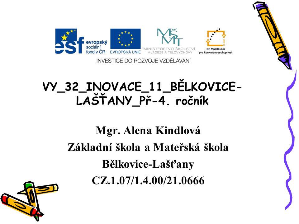 VY_32_INOVACE_11_BĚLKOVICE-LAŠŤANY_Př-4. ročník