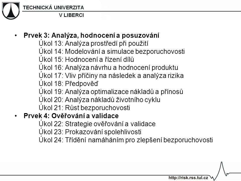Prvek 3: Analýza, hodnocení a posuzování