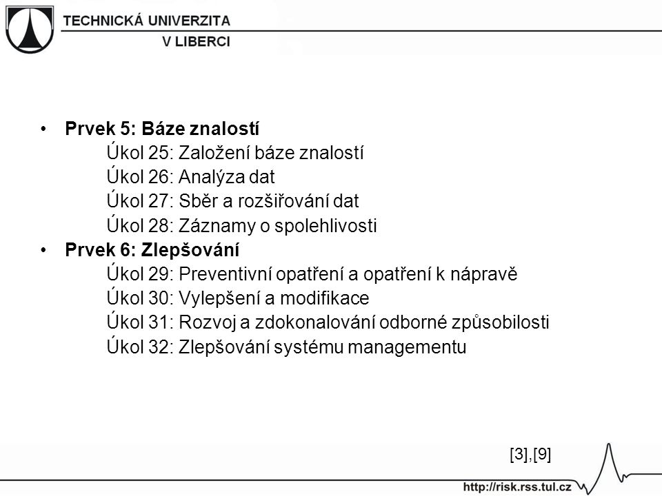Úkol 25: Založení báze znalostí Úkol 26: Analýza dat