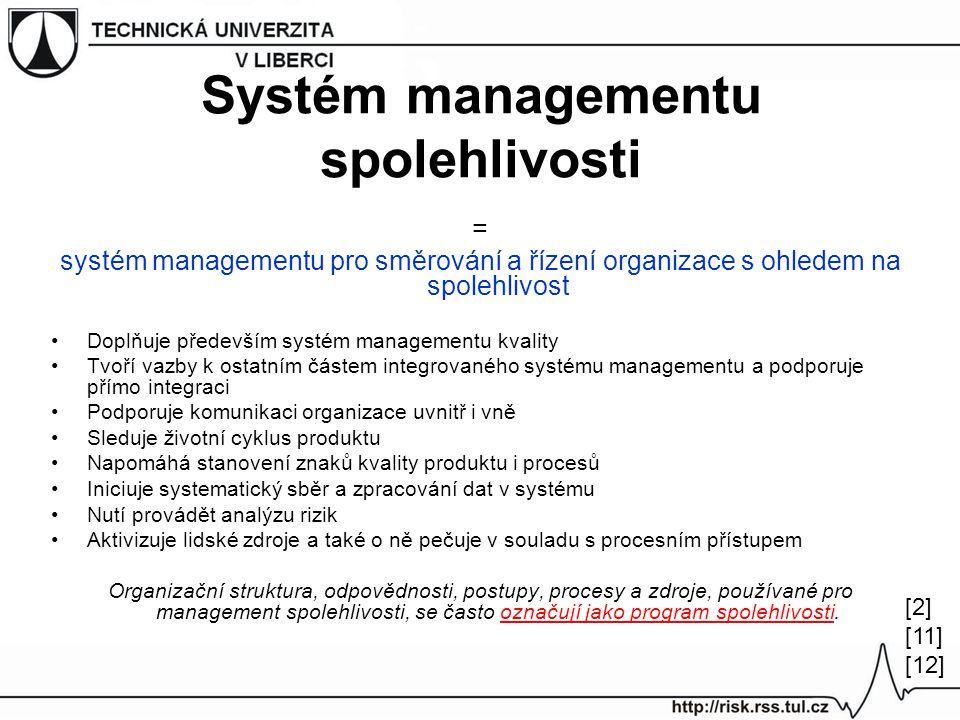 Systém managementu spolehlivosti