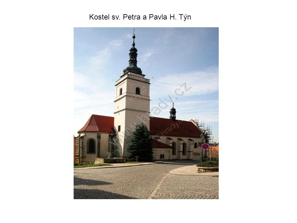 Kostel sv. Petra a Pavla H. Týn