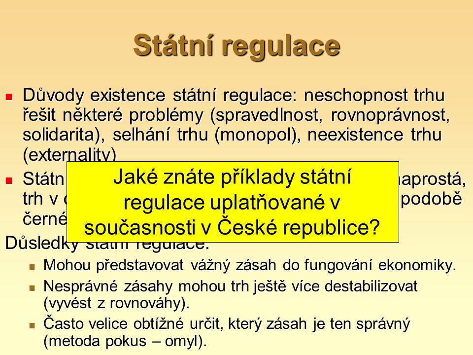 Státní regulace