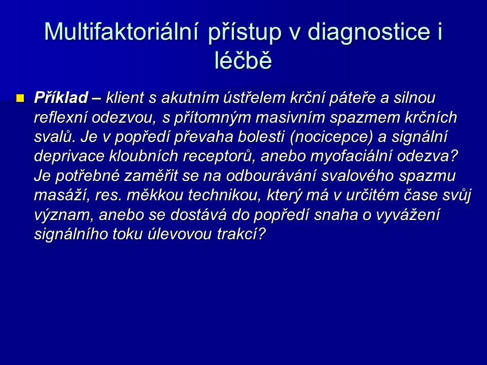 Multifaktoriální přístup v diagnostice i léčbě