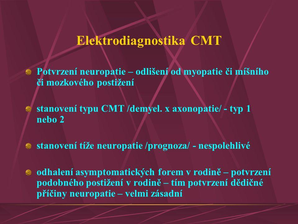 Elektrodiagnostika CMT