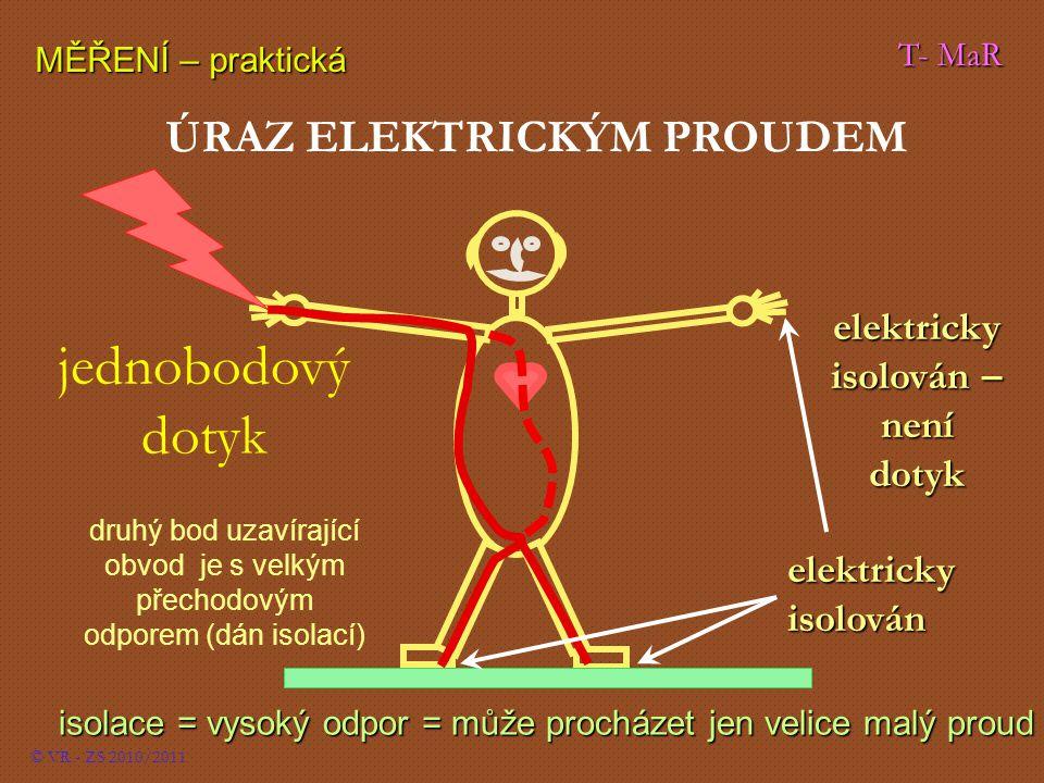 elektricky isolován – není dotyk