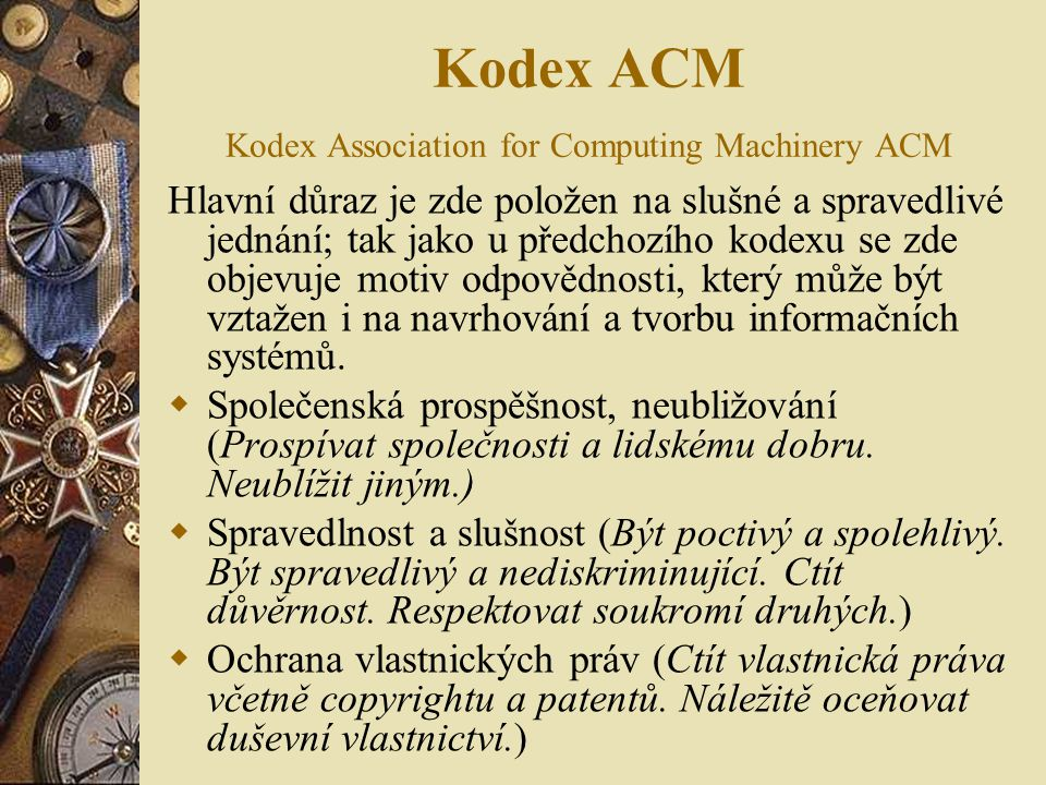Kodex ACM Kodex Association for Computing Machinery ACM