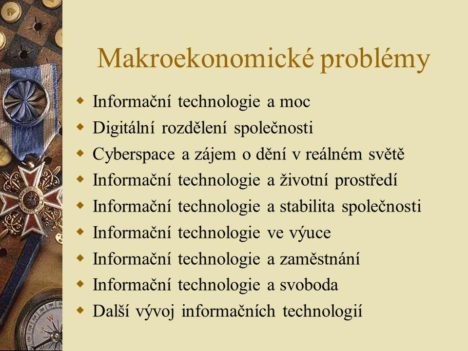 Makroekonomické problémy