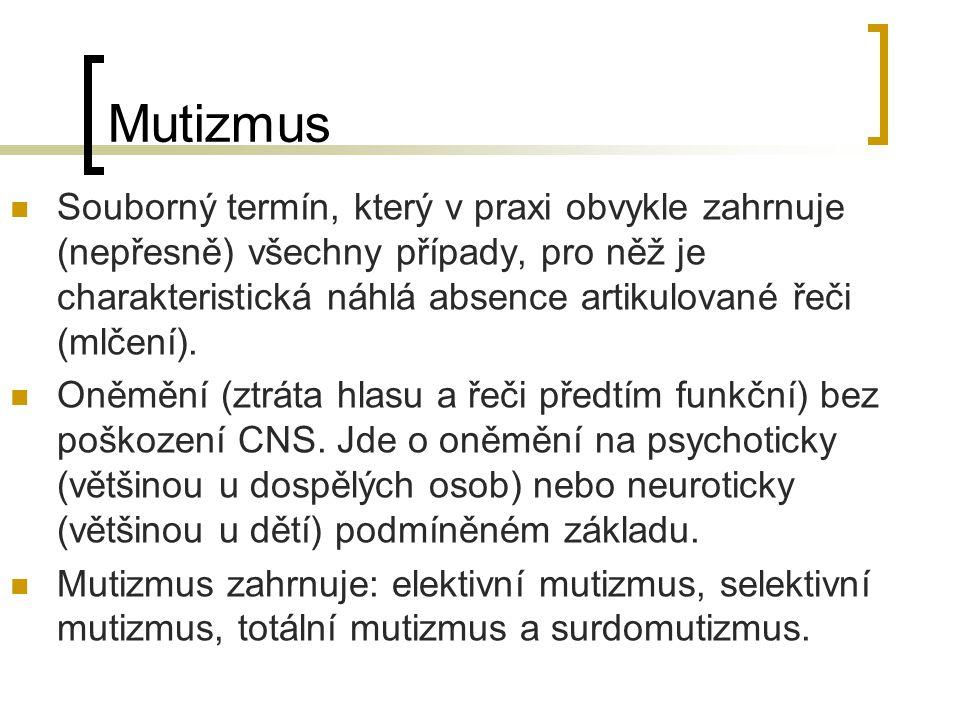 Mutizmus