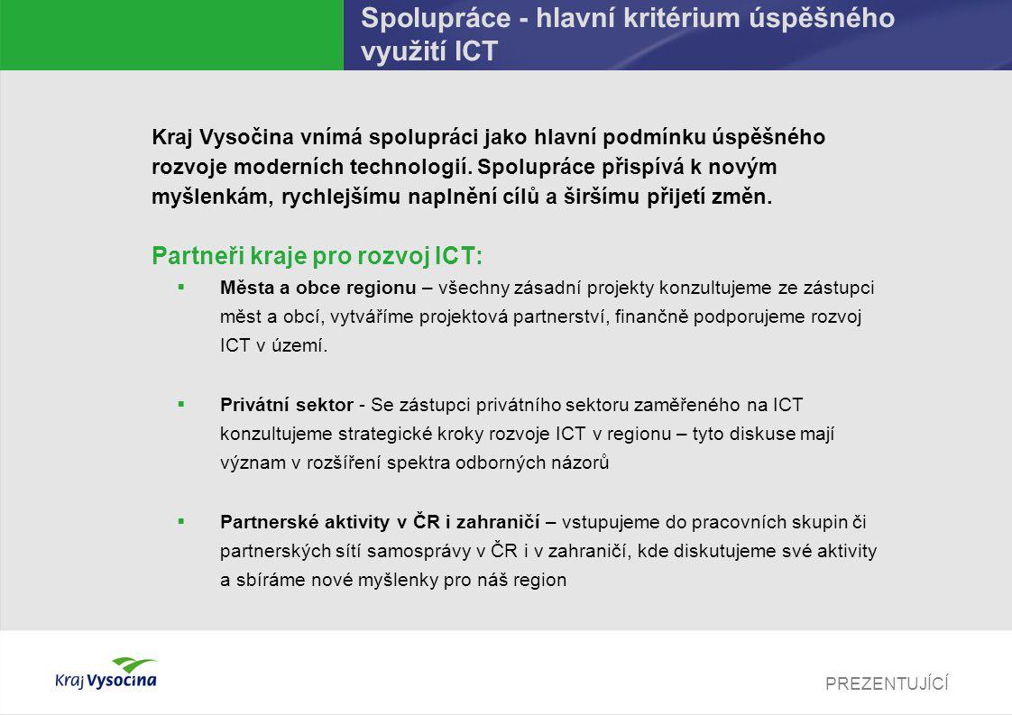 Spolupráce - hlavní kritérium úspěšného využití ICT