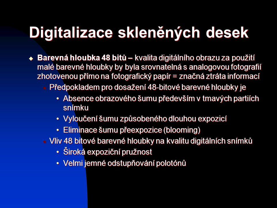 Digitalizace skleněných desek
