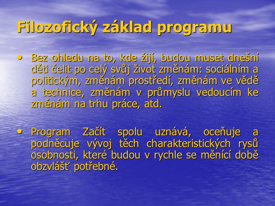 Filozofický základ programu