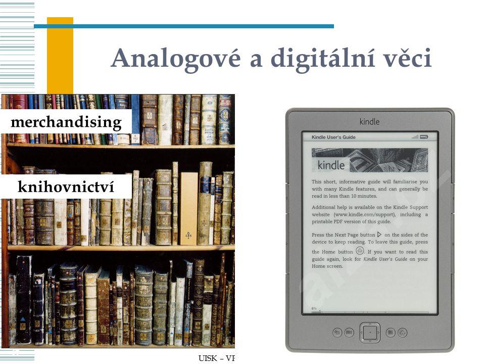 Analogové a digitální věci