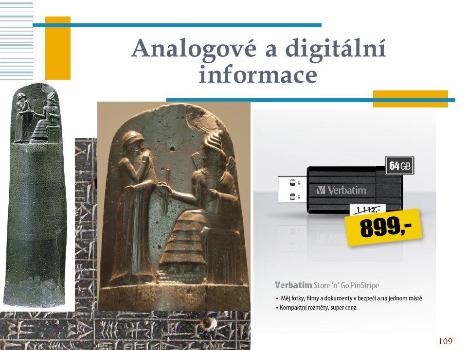 Analogové a digitální informace