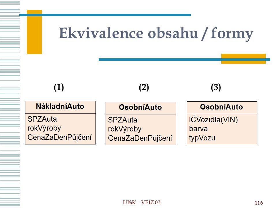 Ekvivalence obsahu / formy