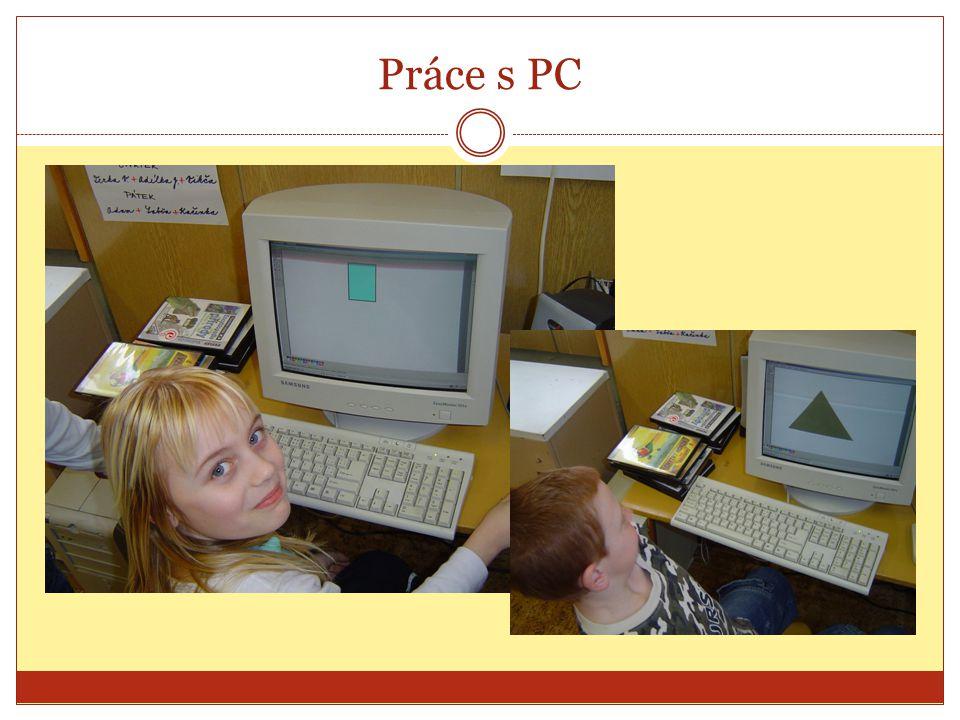 Práce s PC