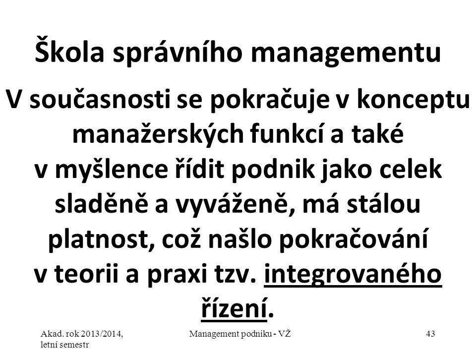 Škola správního managementu
