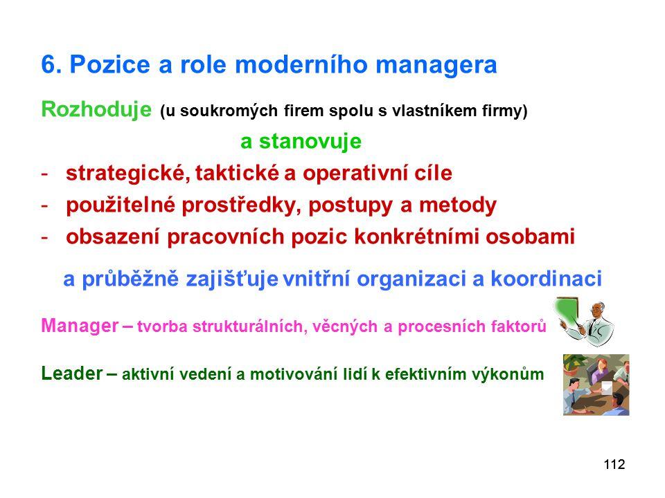 a průběžně zajišťuje vnitřní organizaci a koordinaci