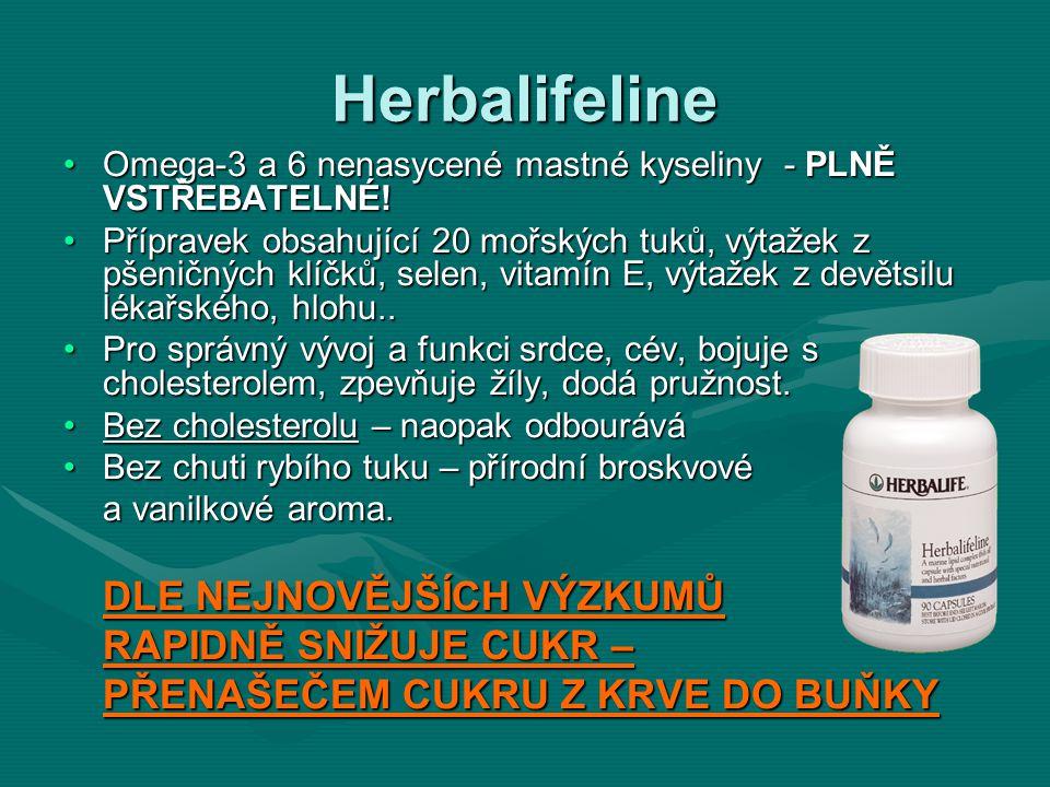Herbalifeline DLE NEJNOVĚJŠÍCH VÝZKUMŮ RAPIDNĚ SNIŽUJE CUKR –
