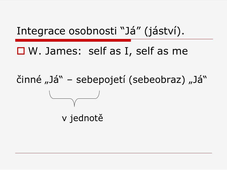 Integrace osobnosti Já (jáství).