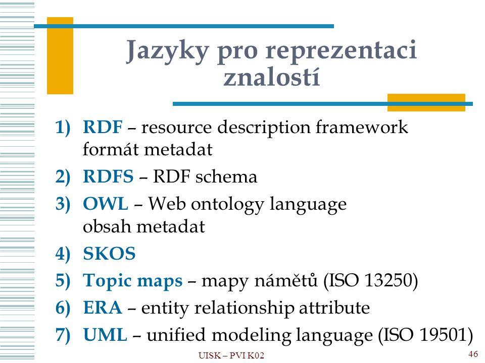 Jazyky pro reprezentaci znalostí