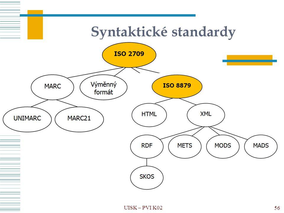 Syntaktické standardy