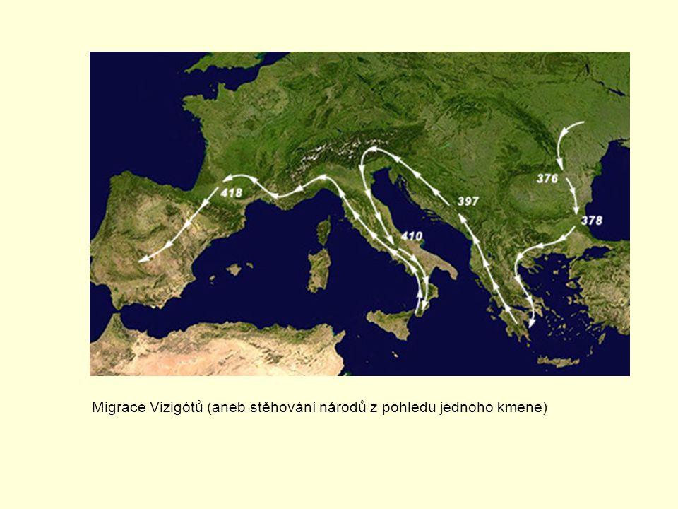 Migrace Vizigótů (aneb stěhování národů z pohledu jednoho kmene)